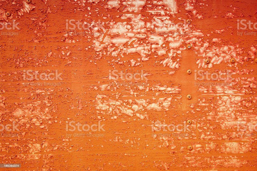 Orange Peeling Paint XXXL Background royalty-free stock photo