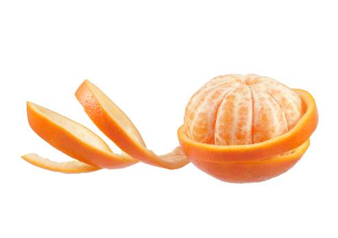 isolated orange