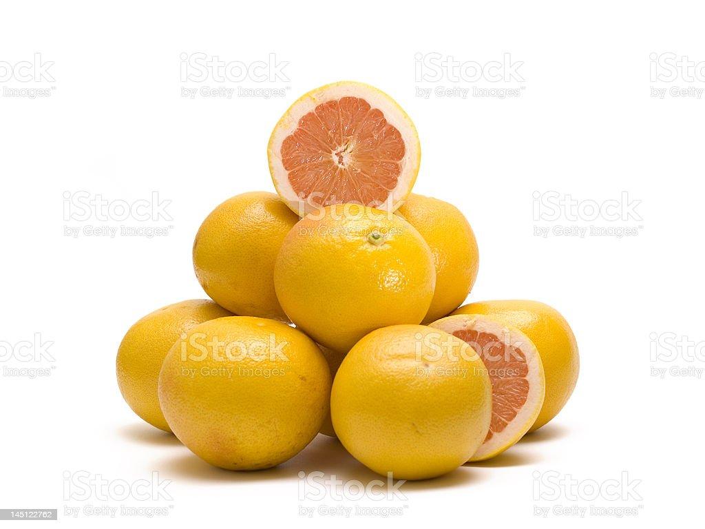 orange pile royalty-free stock photo