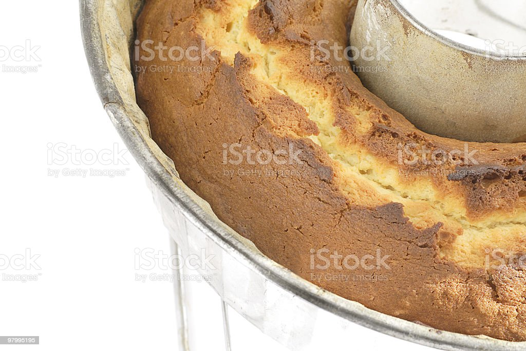 Orange pound cake royalty-free stock photo