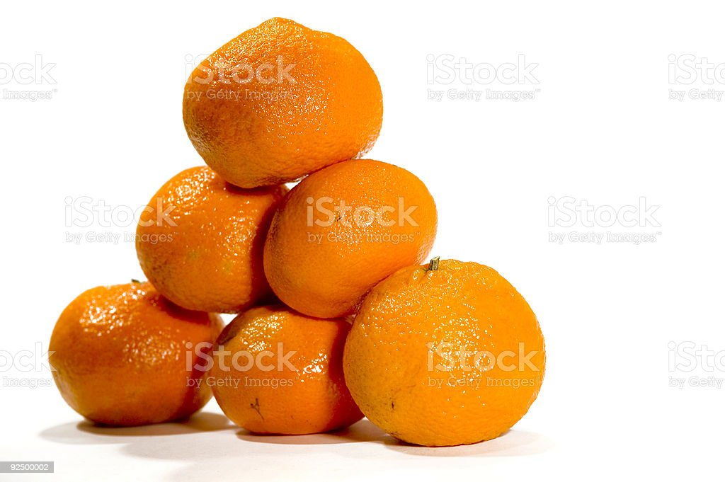 Orange Pyramid royalty-free stock photo