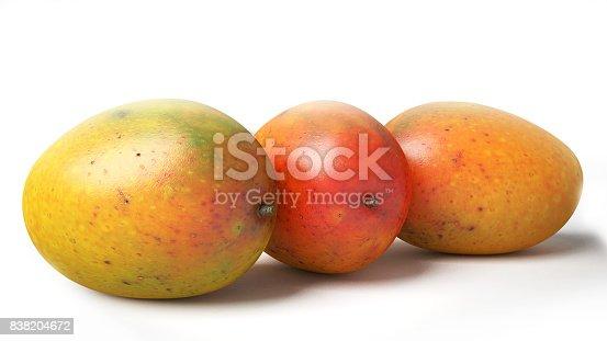 istock Orange, Red and Yellow Mangoes 838204672