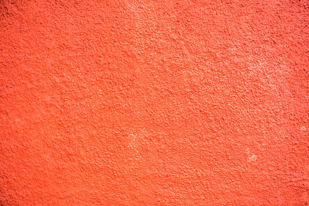 Orange, red painted textured background. stock photo