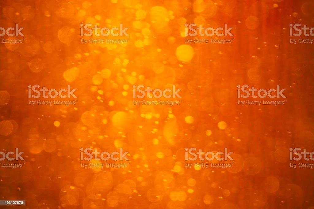 Orange - red - yellow Christmas background stock photo