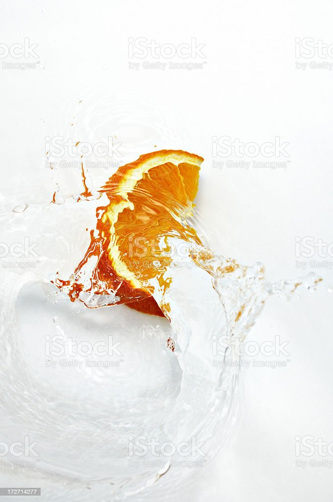orange refreshment royalty-free stock photo
