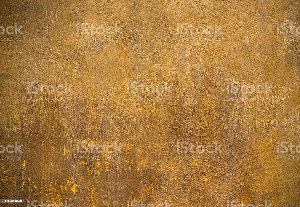 Orange Roman wall texture background, Rome Italy stock photo