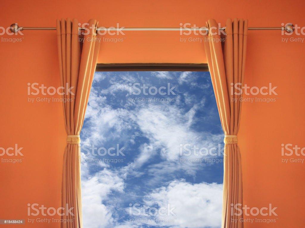 Photo libre de droit de Chambre Orange Disposent Dune ...