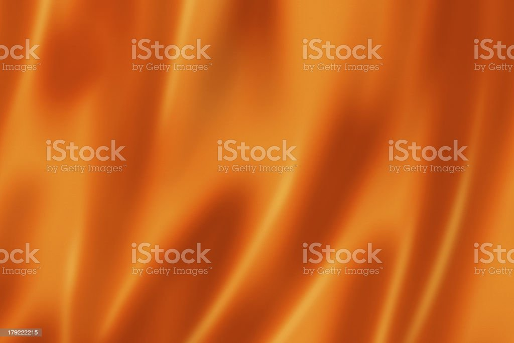 Orange satin texture stock photo