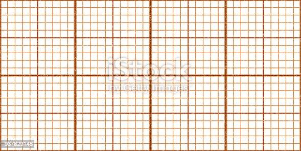 orange seamless millimeter paper background tiling graph grid