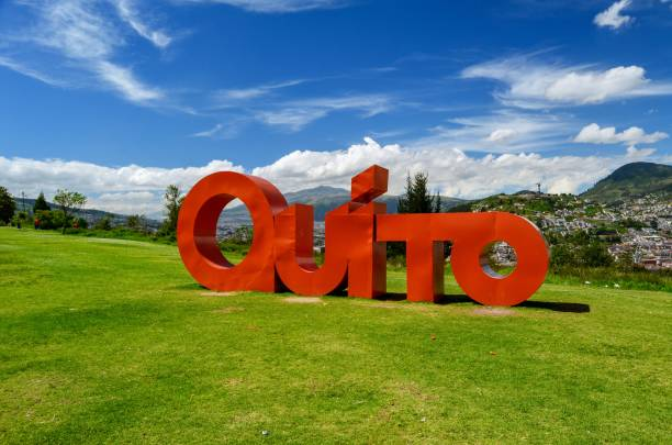 Orange sign that spells out quito with the city in the background picture id1127211434?b=1&k=6&m=1127211434&s=612x612&w=0&h=a tmuvljdncrlf4ugy q3lblikr 0i1zjss kmsjd80=