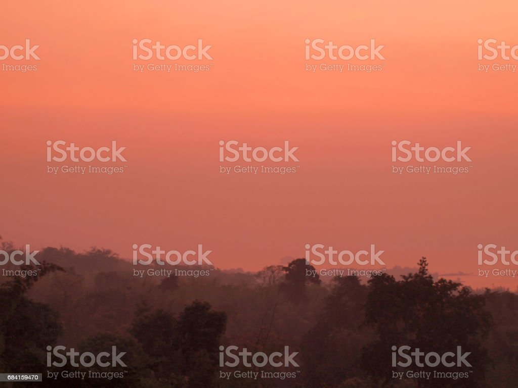 Orange sky background photo libre de droits