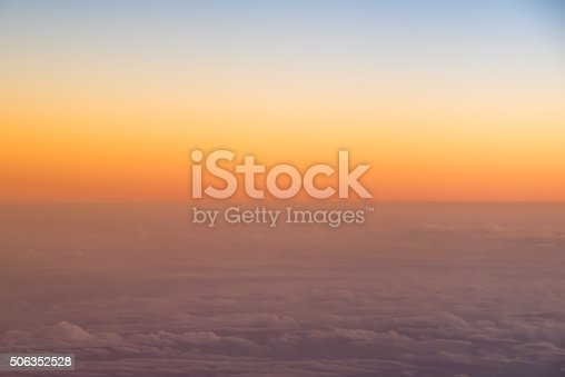 istock orange sky background sunset 506352528