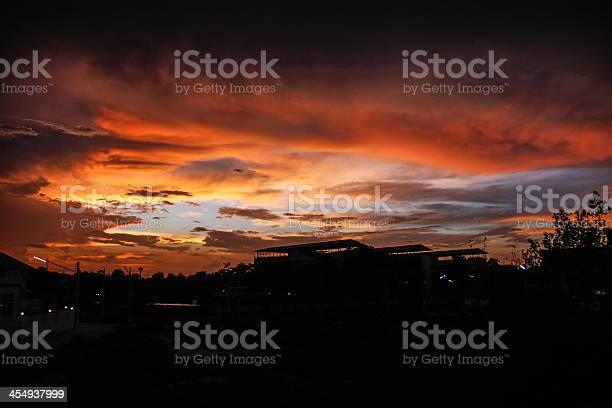 Photo of orange sky