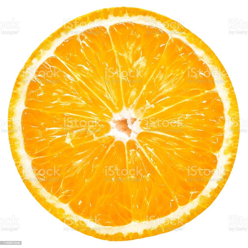 橙色切片 - 免版稅一個物體圖庫照片