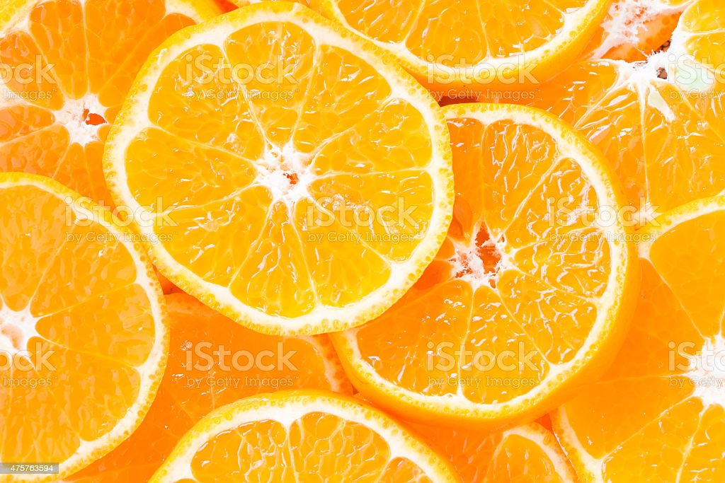 Orange slice – Foto