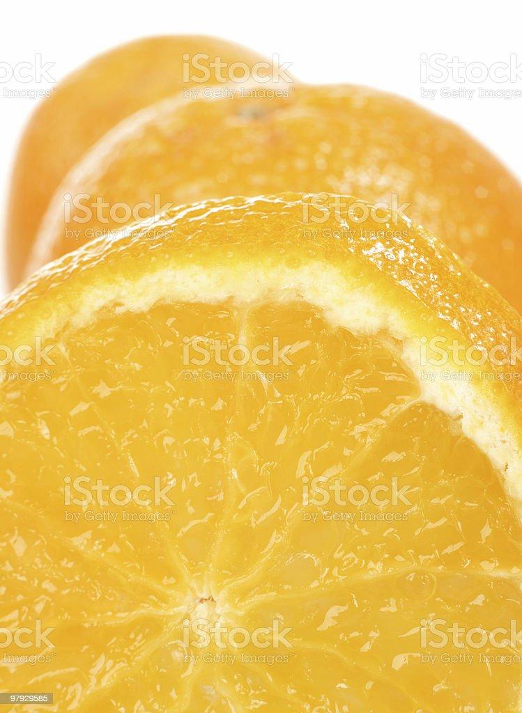 Orange slice royalty-free stock photo