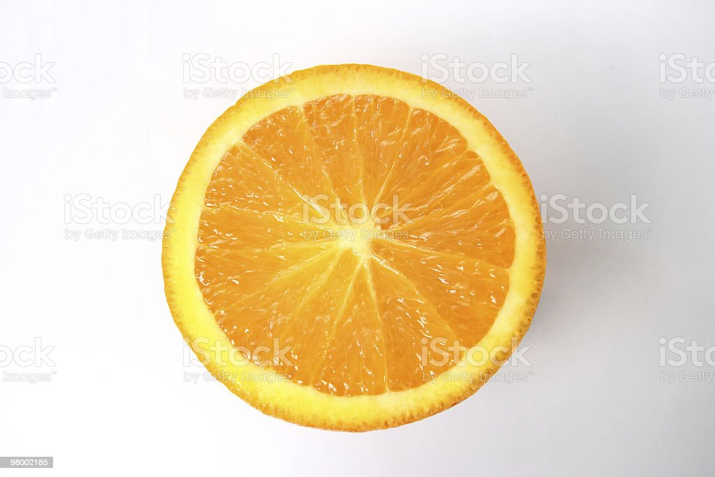 Orange slice royalty-free stock photo