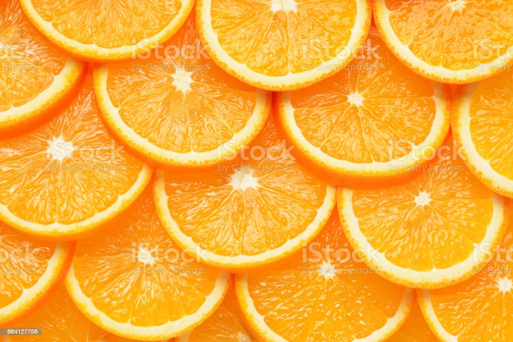 Orange slices background foto stock royalty-free