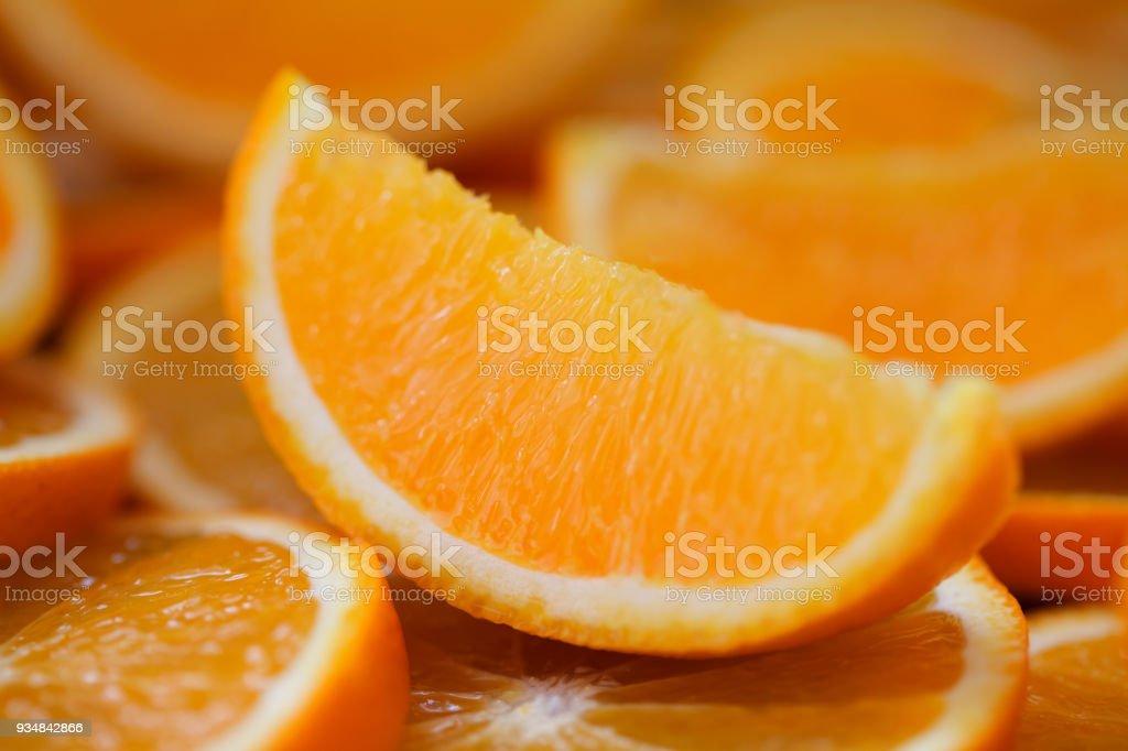 오렌지 슬라이스, 근접 촬영 - 로열티 프리 감귤류 과일 스톡 사진