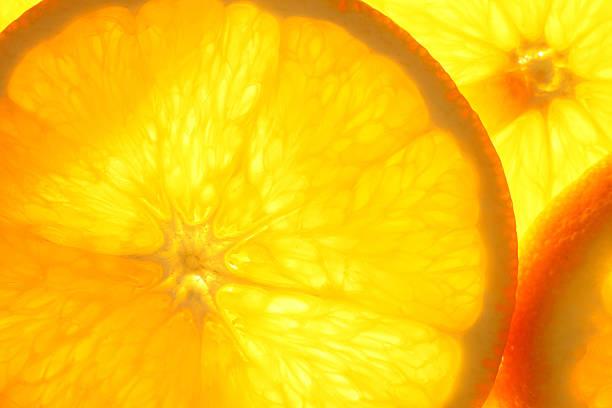 orange Scheiben – Foto