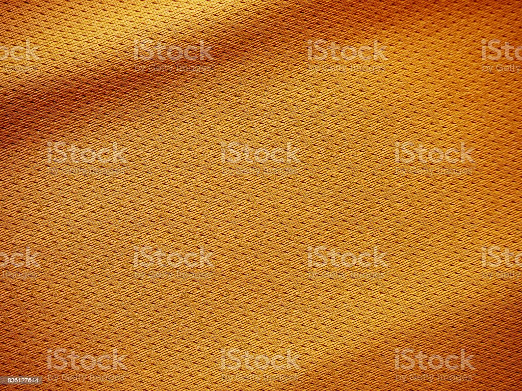 orange sports clothing fabric jersey texture stock photo