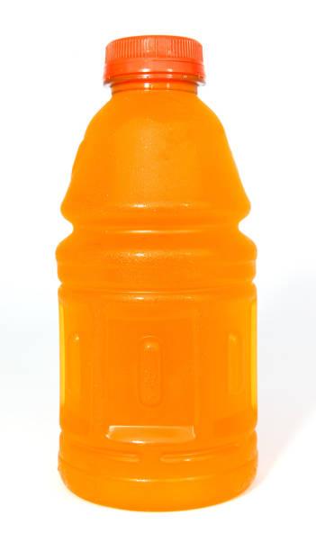 Orange Sports Drink stock photo