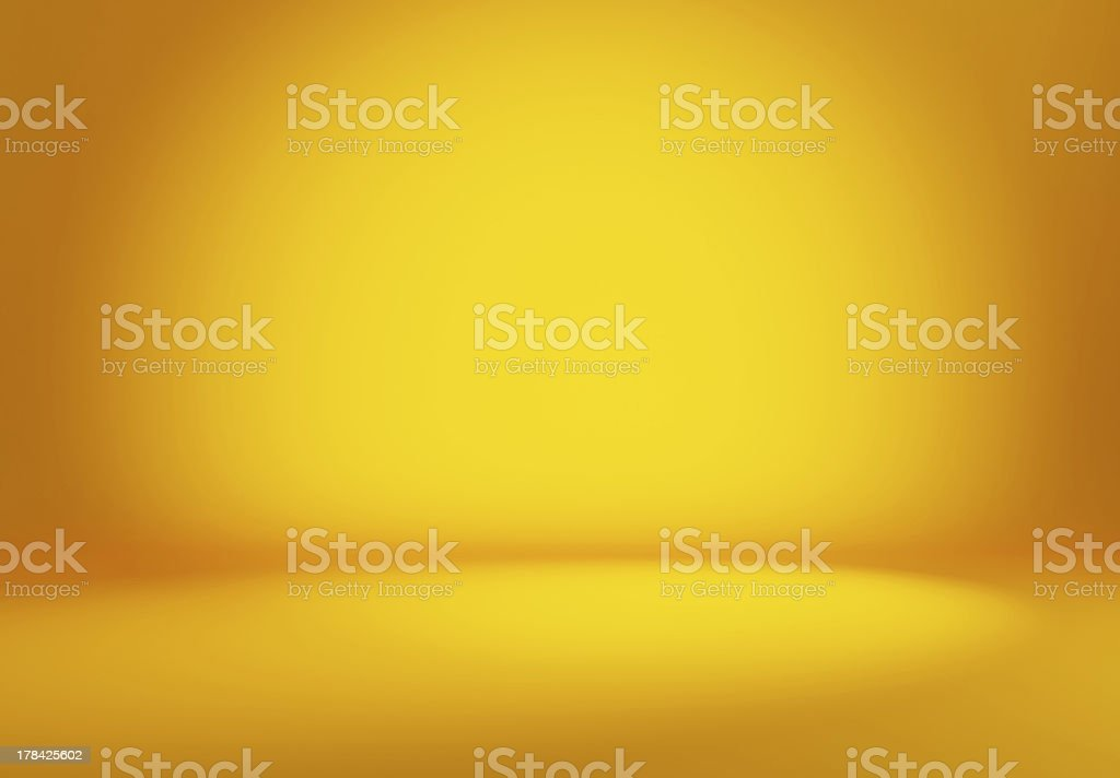 Orange Spot Lights stock photo