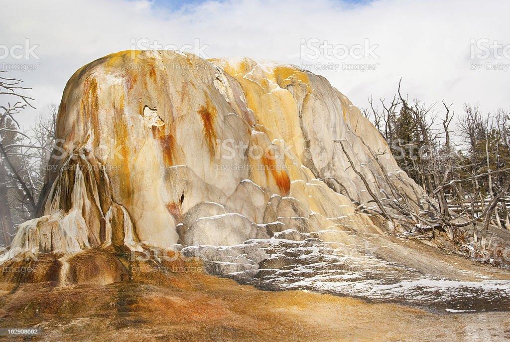 Orange Spring Mound royalty-free stock photo