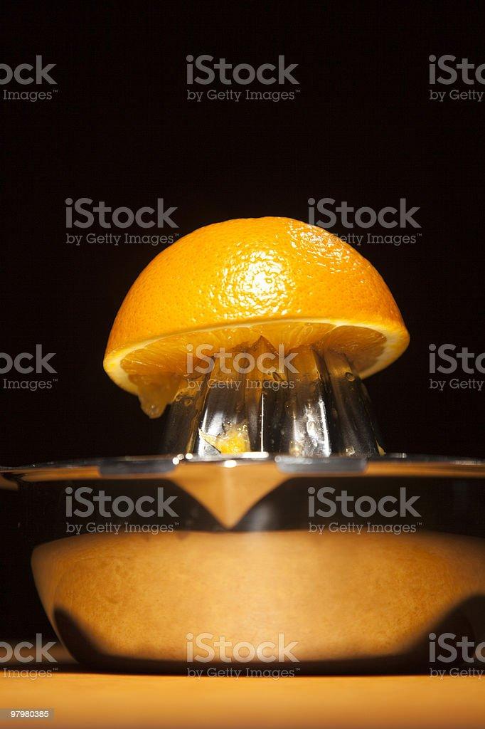 Orange Squeeze royalty-free stock photo
