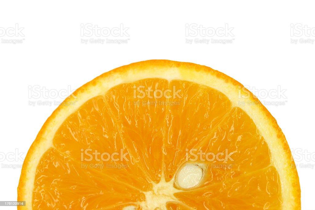 Orange sunrise stock photo