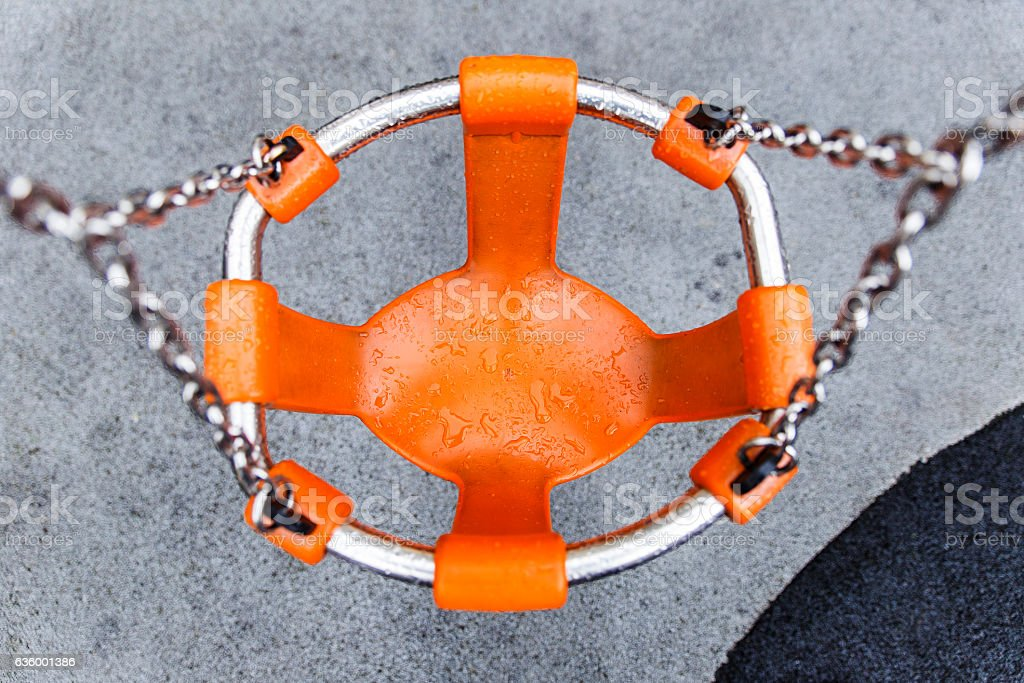 orange swing stock photo
