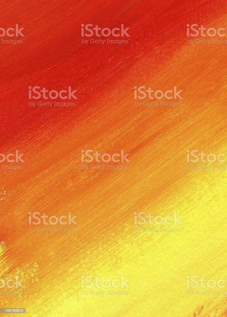 orange textured Abstract Paint stock photo