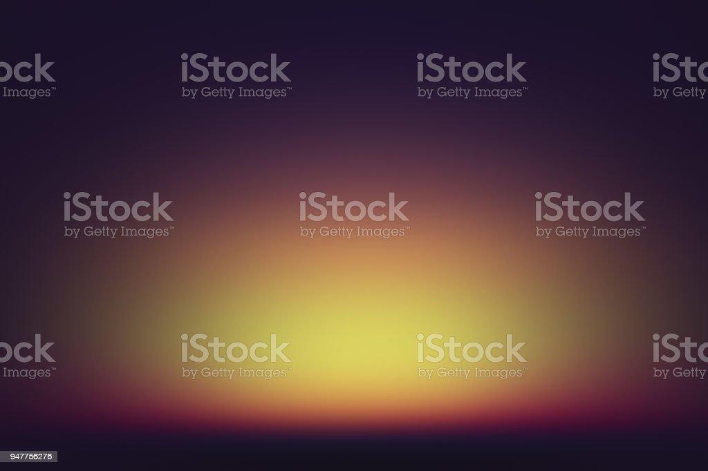 orange to purple gradient sky stock photo