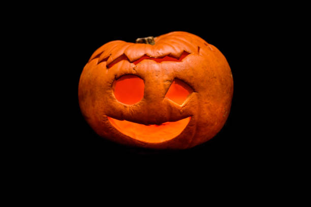 Royalty Free Silhouette Of Ugly Pumpkin Faces Pictures Images And
