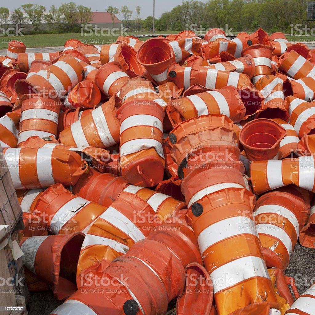 Orange der Fässer – Foto