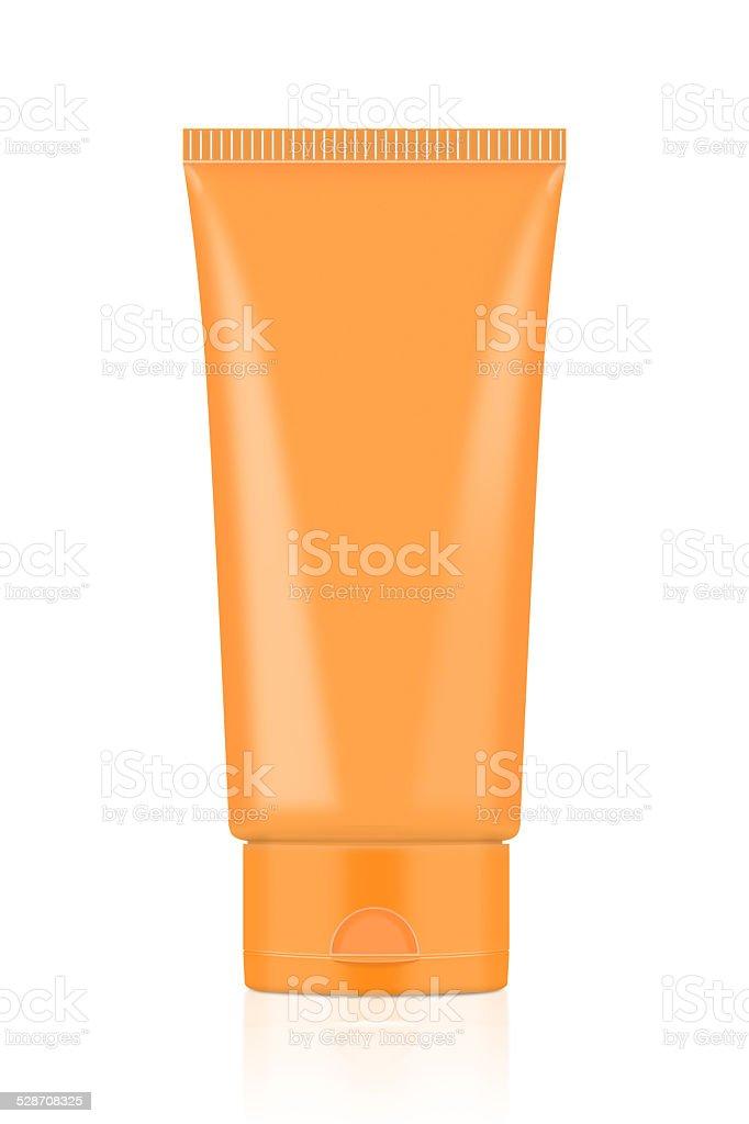 Orange Tube stock photo