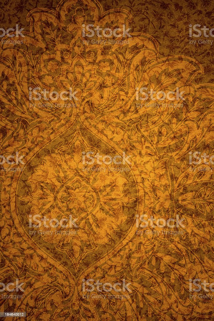 Orange Vintage Abstract Background royalty-free stock photo