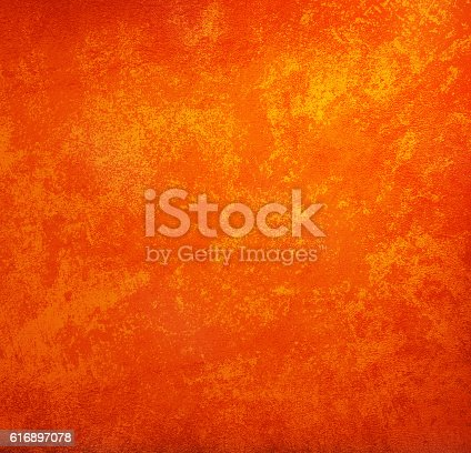 istock orange Vintage Style background with copy space for text  grunge 616897078