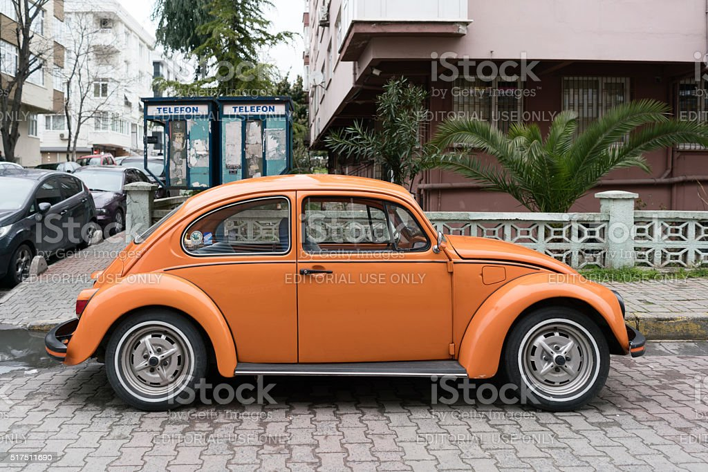 Orange Volkswagen Auto – Foto