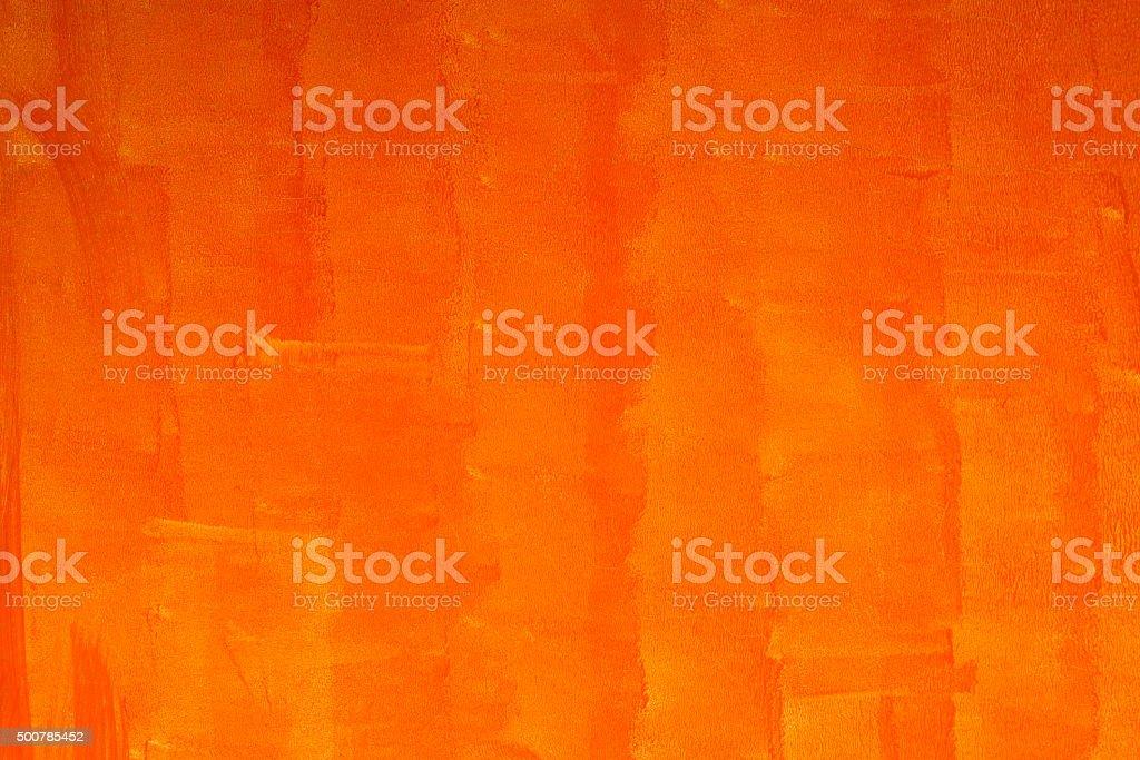 Orange wall background stock photo