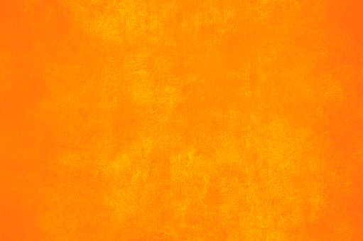 Orange painted wall grungy backdrop or texture