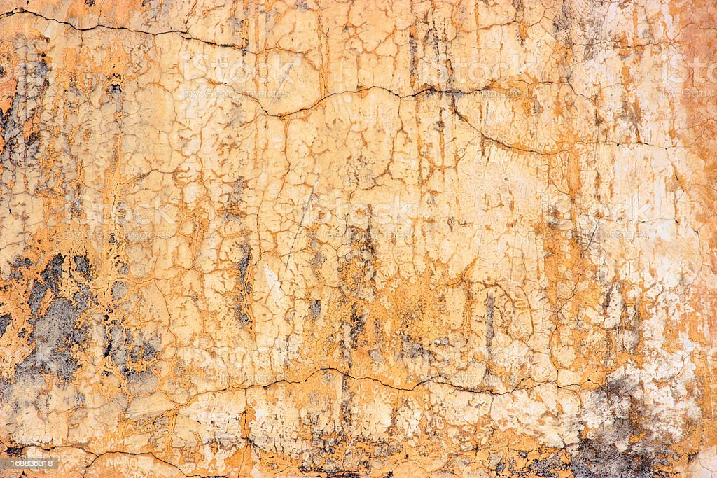 Orange wall texture royalty-free stock photo