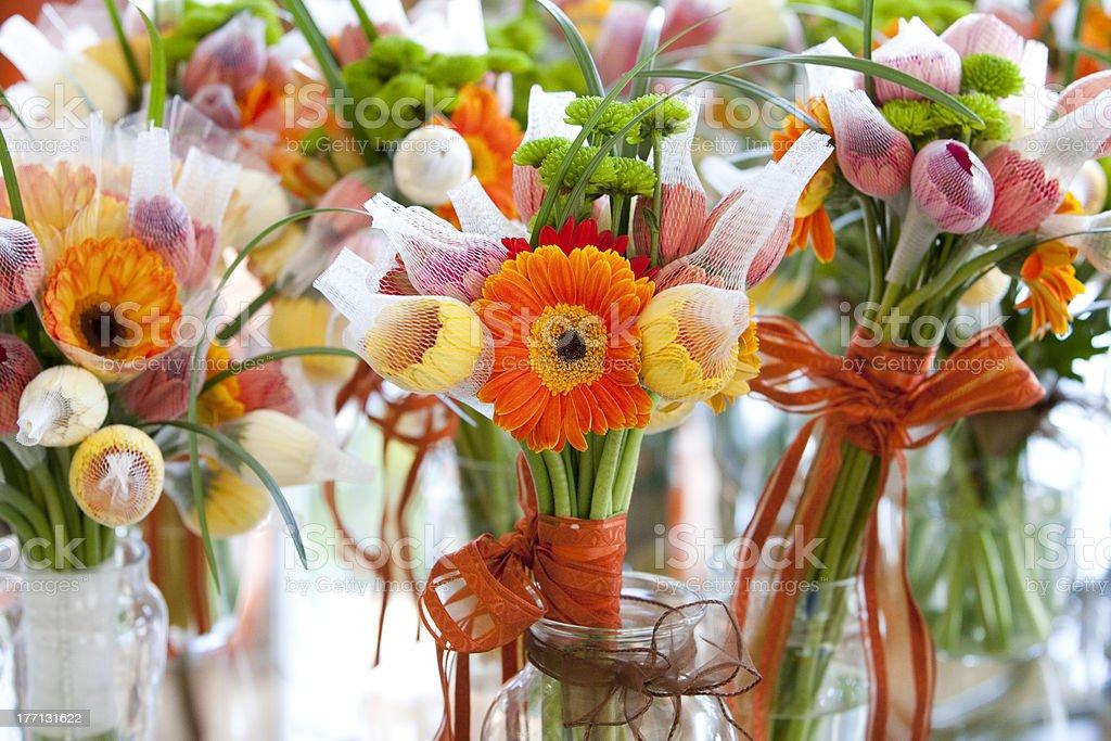 Orange Hochzeit Blumen Stock Fotografie Und Mehr Bilder Von Beige