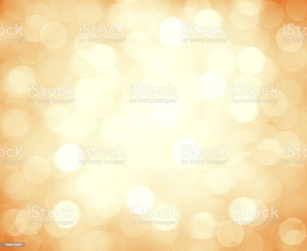 Orange & white blurred light background stock photo