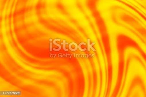 872334598 istock photo Orange Yellow Red Wave Liquid Amber Marble Glass Gold Background Abstract Honey Whiskey Pattern Vibrant Color 1172575882