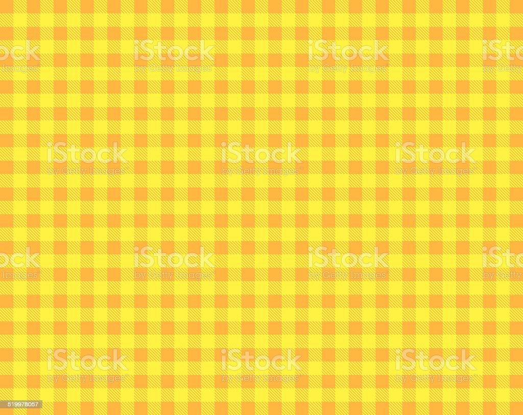 Orange yellow tablecloth stock photo