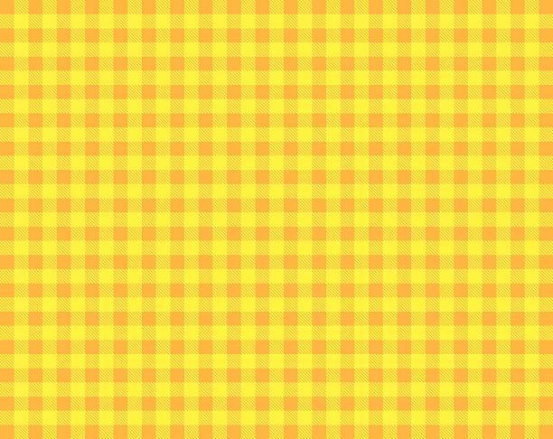 Orange Gelb Tischtuch – Foto