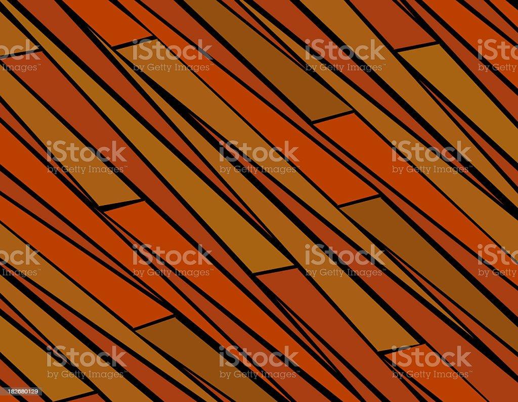 Orange Zebra Stripes royalty-free stock photo