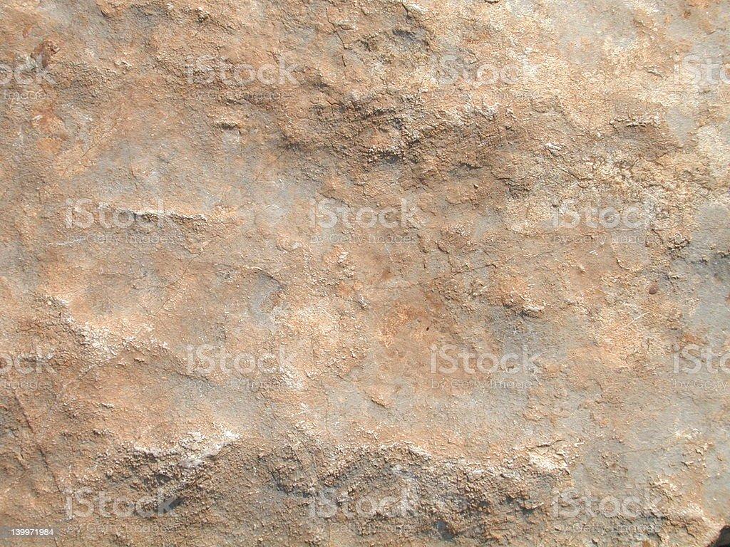 Orange-grey rough stone background royalty-free stock photo