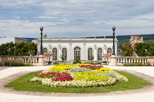 Orangery Of The Champagne House Moët Chandon In Epernay Stock Photo - Download Image Now